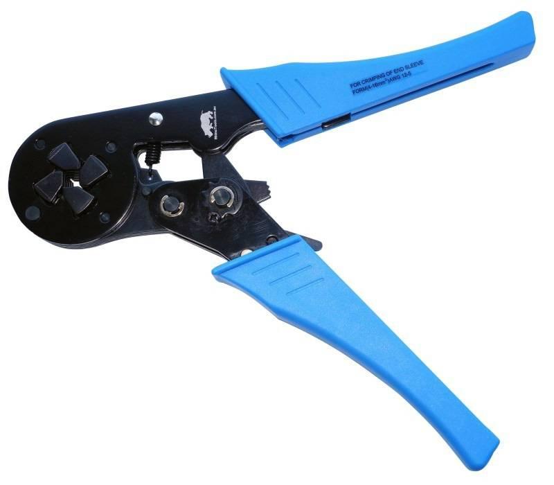 4mm 16mm 178 Self Adjusting Ferrule Crimper Rhino Tools